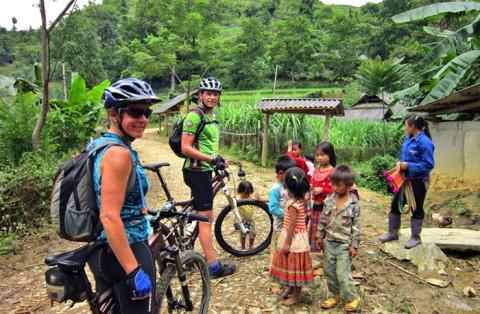 Quan Lan: Fietsen op een 'laidback' eiland