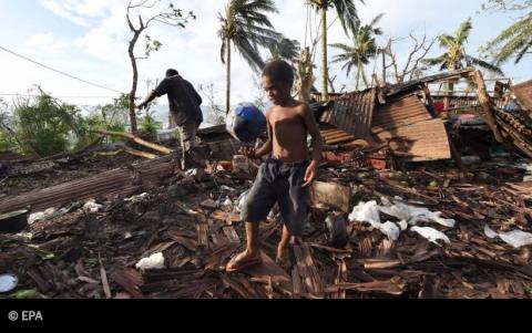 Hulpverlening Vanuatu op gang. Steunen kan op giro 6868