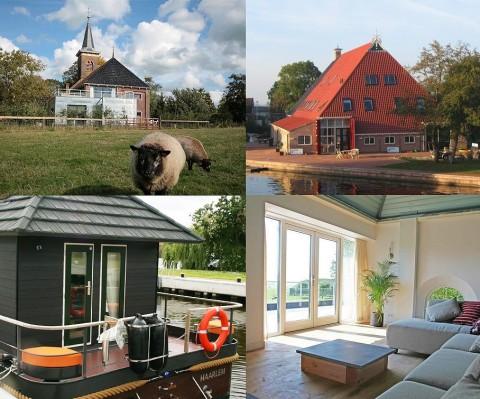 Drie bijzondere overnachtingen in Hartje Friesland