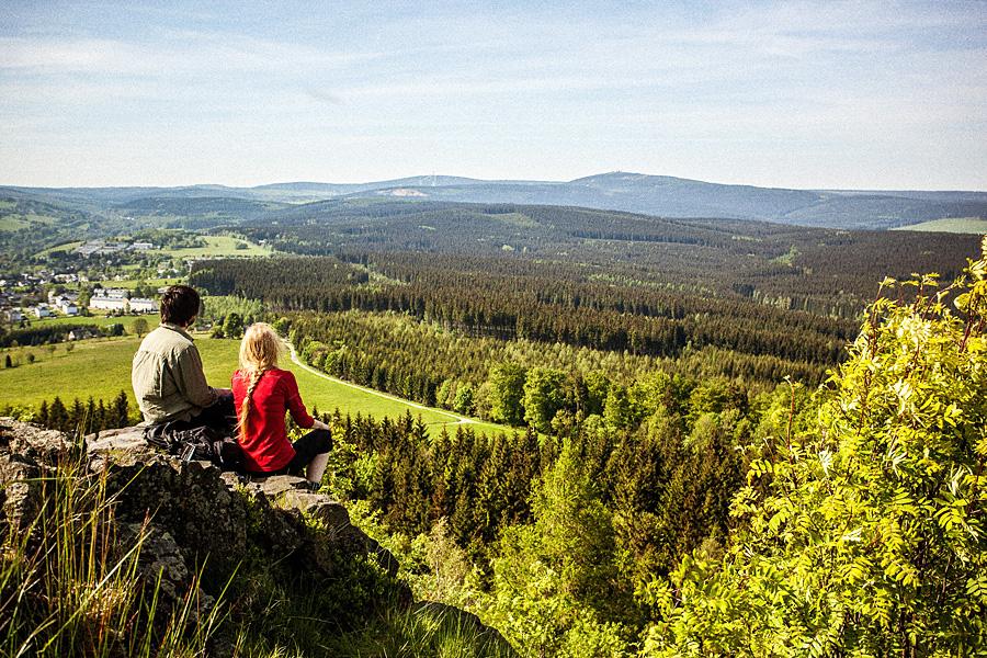 Uitzicht vanaf de Kammweg