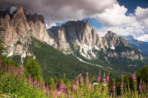 Huttentocht Val di Fassa / Val Gardena, Italiaanse Dolomieten