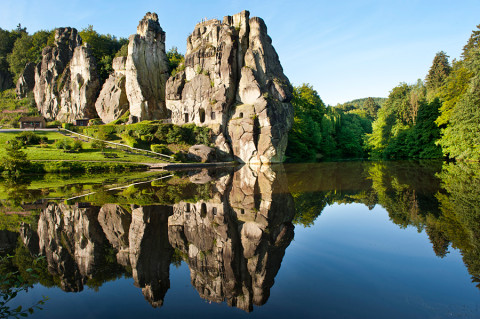 Top Trail 'Hermannshöhen', historische wandelroute door Teutoburgerwoud