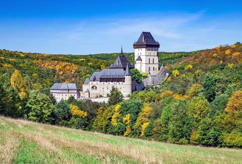 Een herfst-rondreis door het land van de kastelen
