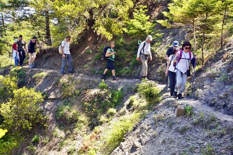 Prijswinnende wandelroute in het culturele hart van Griekenland