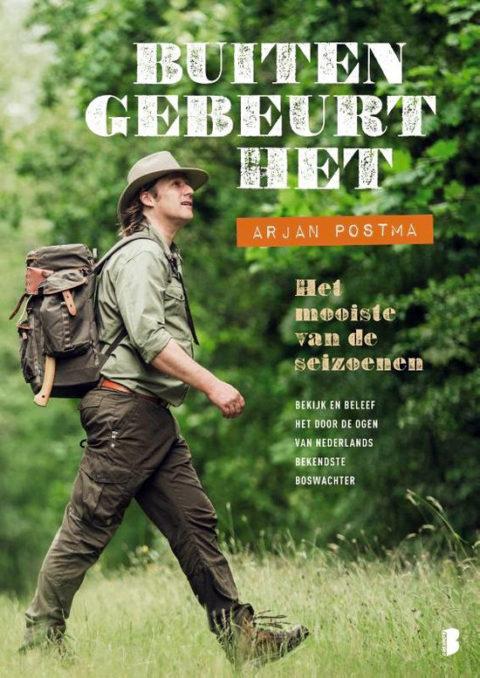 Het nieuwste Buitenboek van boswachter Arjan Postma
