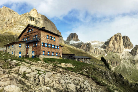 Huttentocht Val di Fassa / Rosengarten, Italiaanse Dolomieten