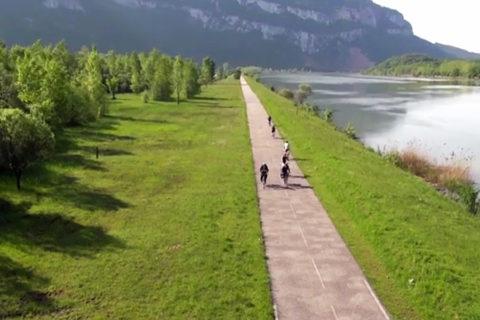 Via Rhôna: de nieuwe rivier-fietsroute naar het zuiden
