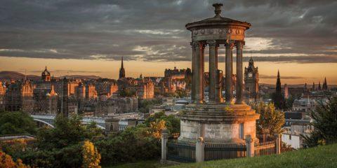 Wandelevenement van Glasgow naar Edinburgh