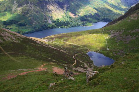Op ontdekking door een afgelegen deel van het Lake District