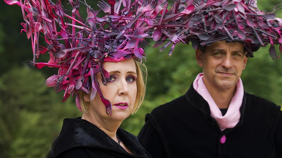 Artistieke wegwerp-fantasie op Elfia Fantasy Fair / gespot door Margo / bron Bestemminginbeeld.nl