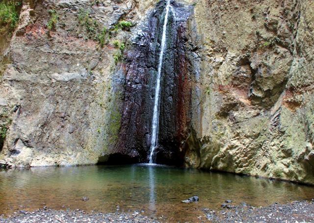 Barranco de Infierno, waterval