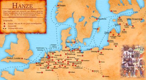Hoeveel Hanzesteden zijn er eigenlijk in Europa?