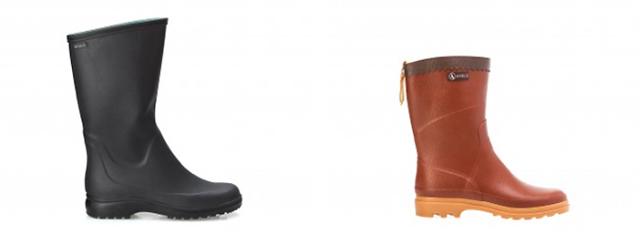 Rubber-Ankel-Boots