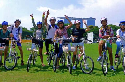 Singapore hike & bike met gids