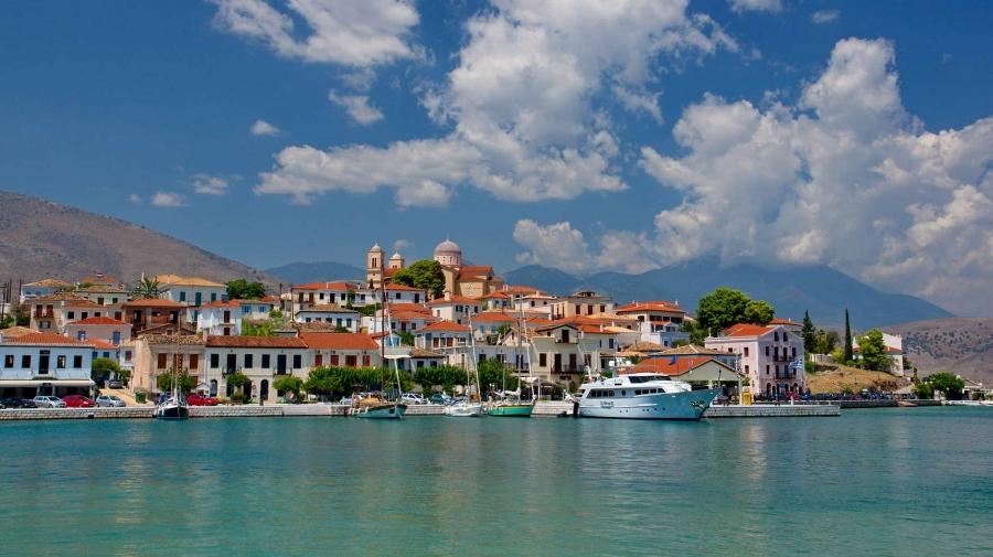 Galaxidi aan de Golf van Korinthe (foto Dimitris Karagiorgos)
