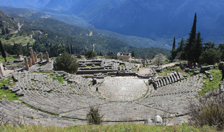 Theater van Delphi