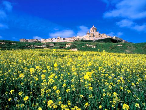 In de lente is Malta op haar mooist