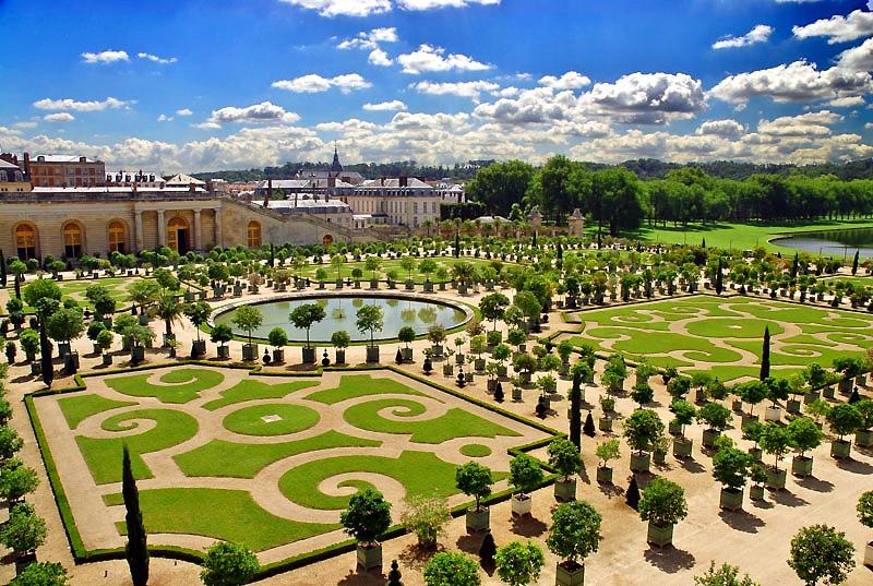 Tuinen Versailles Ecktiv