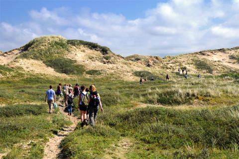 Struinen door de zonnigste duinen van Nederland