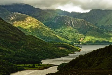 Dit is Schotland als de zon doorbreekt…