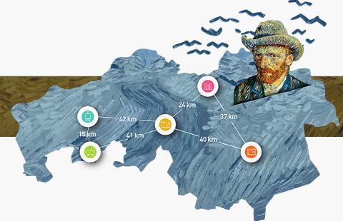 Fiets mee met van Gogh