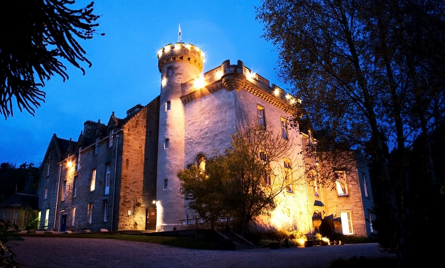 Tulloch Castle (foto mydaily.co.uk)