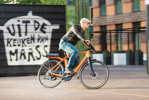 QWIC e-bike met 220 km actieradius