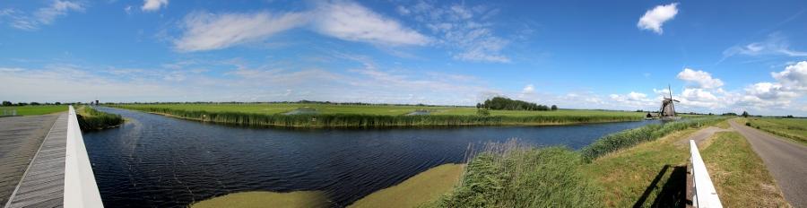 Panorama Alblasserwaard (foto Bert Knot, flickr)