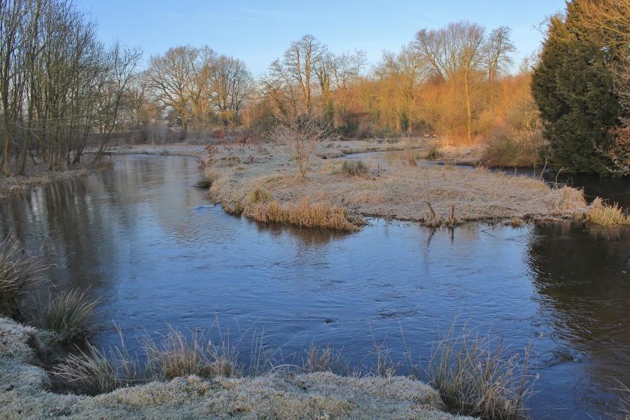 Swalm in de winter, foto Miez Peek