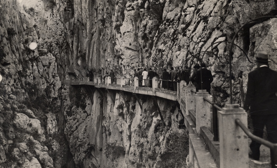 De Caminito del Rey in 1935.