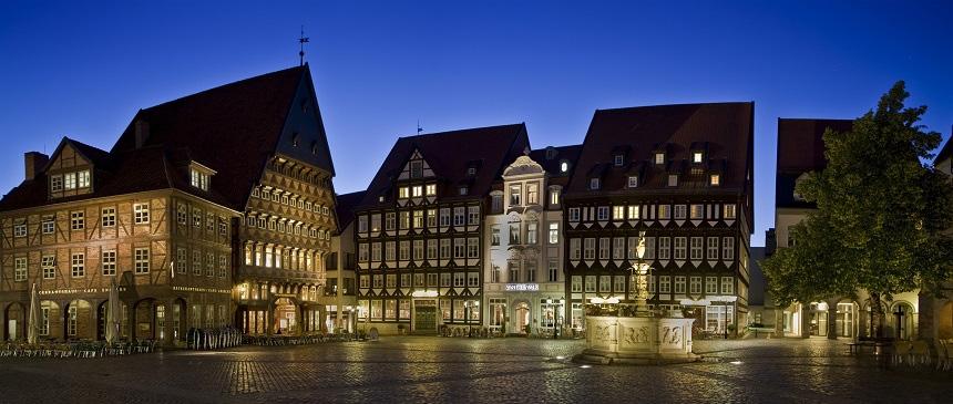 Hildesheim marktplatz