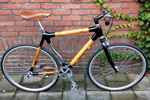 Wat dacht je van een fiets met bamboe veerkracht?