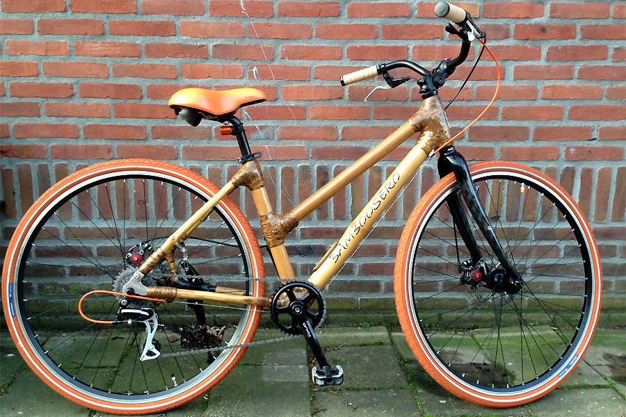 BAMBOE-FIETS-DAMES