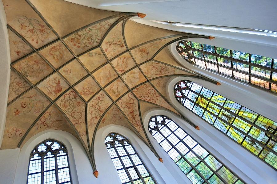 In de Hervormde kerk van Beekbergen.