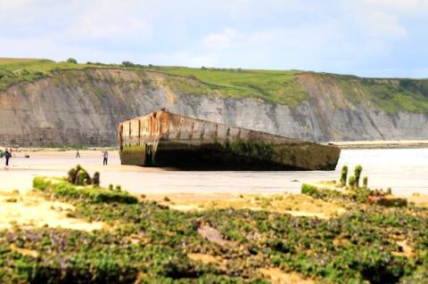 Arromanches: De meest indrukwekkende strandwandeling