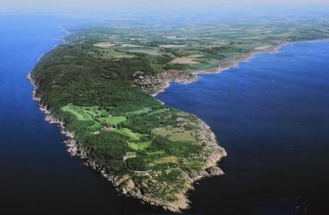 De ontdekking van schiereiland Kullaberg