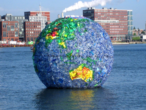 Kunst om de wereld schoon te maken