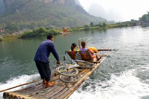 Deze wereldplek doe je varend, fietsend, of gewoon allebei