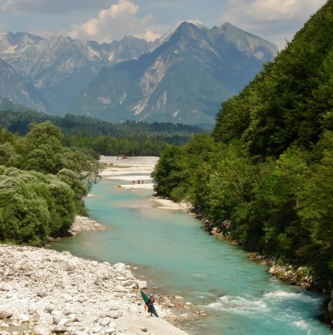 Hiken langs de schoonste rivier van Europa
