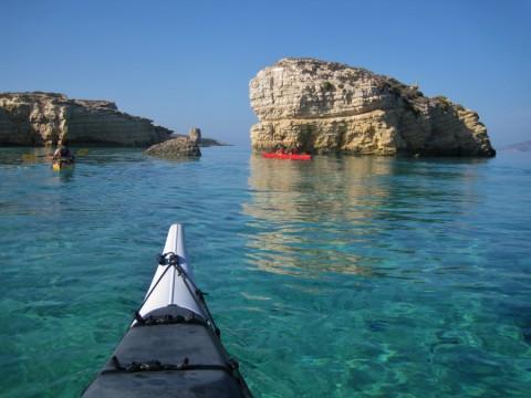 Grieks wondereiland Santorini vanaf zee nog spectaculairder