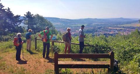 Loop een stuk mee over de GR5 in Noord-Frankrijk