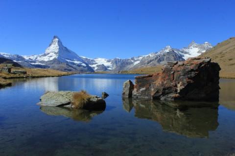 Magische merenroute onder de Matterhorn