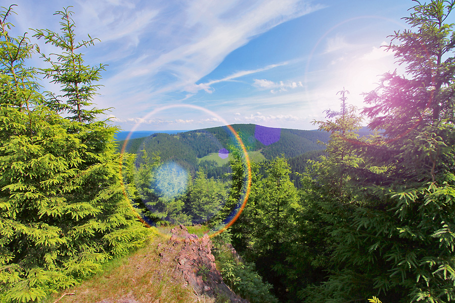 Thuringen-uitzicht