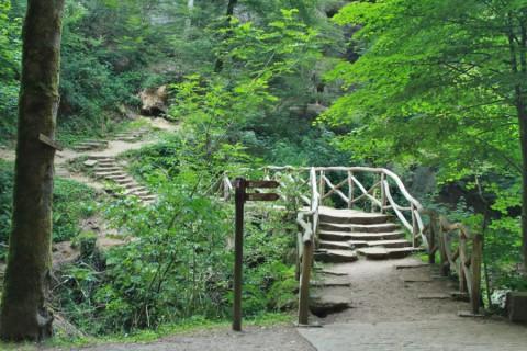 Een avontuurlijke 'top-trail' in Luxemburg