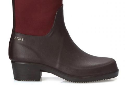 Met deze laarzen kun je vanuit het bos zo de kerstmarkt over
