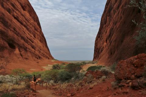 Inside Uluru, een hike rond de beroemdste rots van Australië