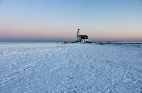 Een winters rondje IJsselmeer met 20 graden onder nul