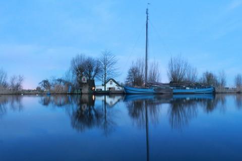 Een Winterochtend langs de Amstel