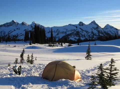 Winterkamperen voor de echte avonturier