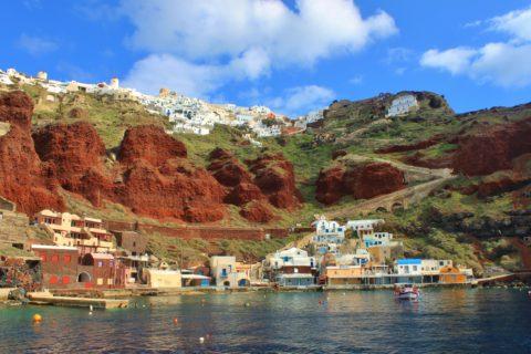 In de winter heb je droomeiland Santorini helemaal voor jezelf